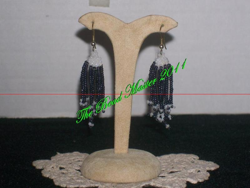 "Western Design Earrings  2"" Long  - TBM-BE-007"
