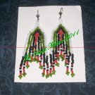 "Western Design Earrings  4"" Long - TBM-BE-010"