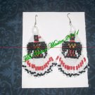 "Western Design Earrings 3"" Long - TBM-BE-011"