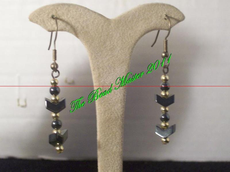 Hematite Earrings - TBM-HE-001
