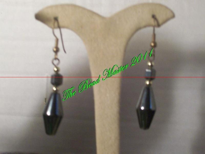 Hematite Earrings - TBM-NE-010
