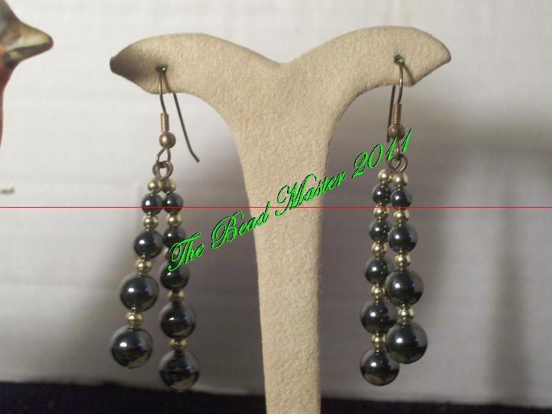Hematite Earrings - TBM-HE-014