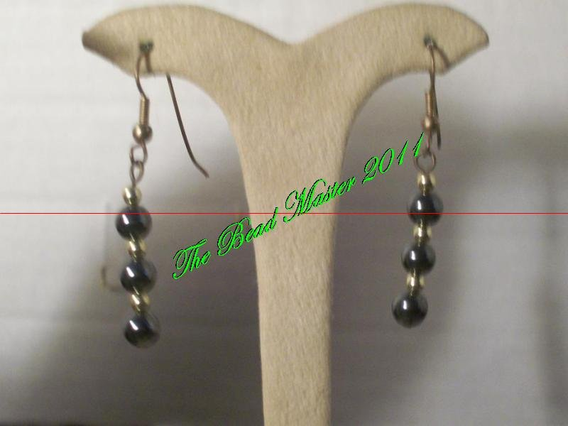 Hematite Earrings - TBM-HE-016