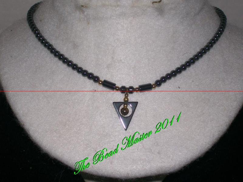Hematite Necklace - TBM-HN-012