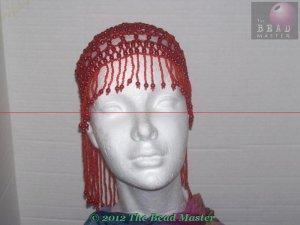 Hand Beaded Head Piece- TBM-BHP-031