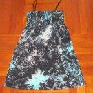 Black Spaghetti Strap Short Dress/Top