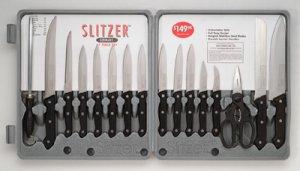 Slitzer 17pc Cutlery Set