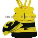 P10005 Baby Cute Bee Swimming Suit with Hat