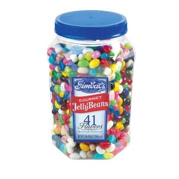 Gimbal's Gourmet Jelly Beans 41 Flavors (40 oz canister)