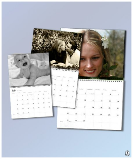 12 Month Your Photos Wall Calendar (10�)