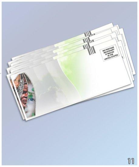 Custom Designed, Full Color Envelopes
