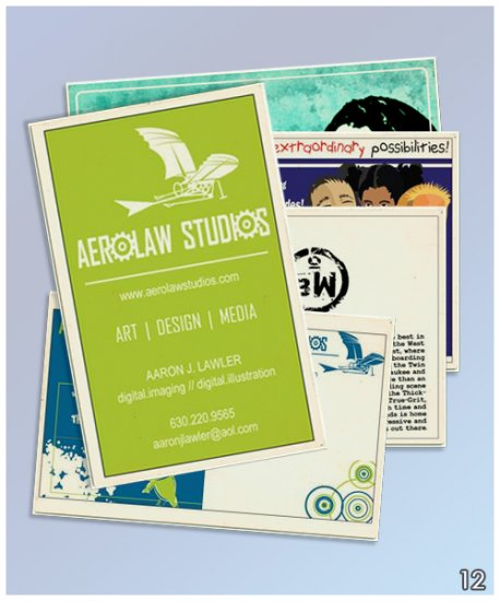 Full Color Single Sided Business Cards