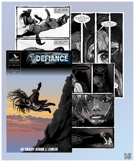 """Graphic Novel: �He Who is Called Defiance"""""""