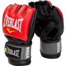 Everlast Pro Style MMA Grappling Gloves - RED - S/M