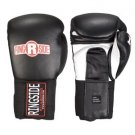 Ringside IMF Tech Sparring Boxing Gloves BLACK 18 Oz. VELCRO