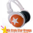 Japanese authentics Mix-style headphone Orange