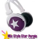 Japanese authentics Mix-style headphone Purple