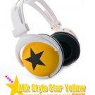 Japanese authentics Mix-style headphone yellow