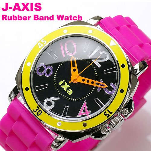 J-Axis Rubber band - Pink