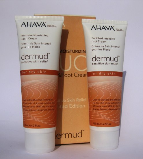 Ahava Dermud hand and foot cream