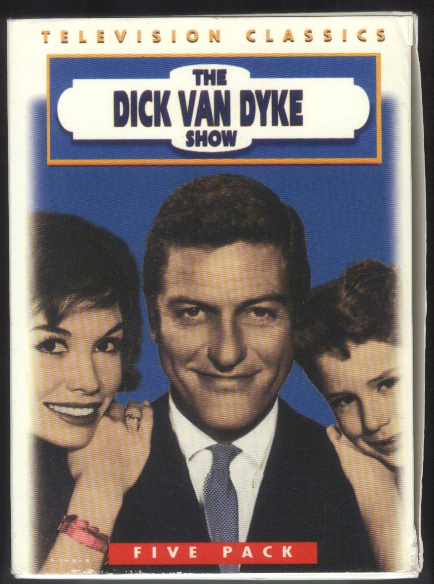 Dick Van Dyke Show, 5 Pack, Black & White VHS