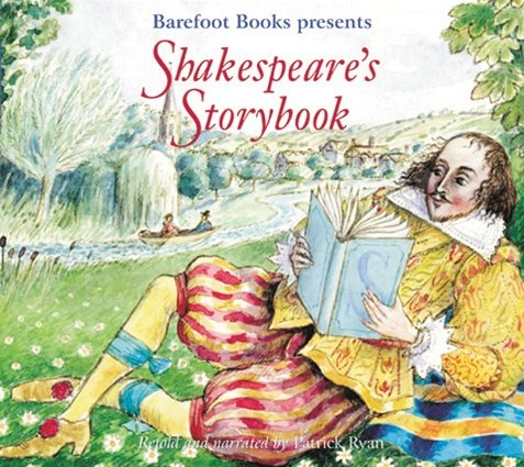 Shakespeare's Storybook Folk Tales that Inspired the Bard, Paperback with Story CD