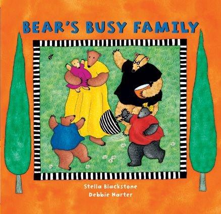 Bear's Busy Family, Boardbook
