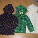 NWT GAP KIDS GIRLS MICRO FLEECE ZIP-UP JACKET 2 & 4 NEW