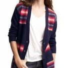 NWT NEW GAP WOMEN SWEATER CARDIGAN WOOL/NYLON SIZES M/L