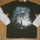 GAP KIDS BOYS Graphic Ts SHIRT  M(8) LONG TOP NWT