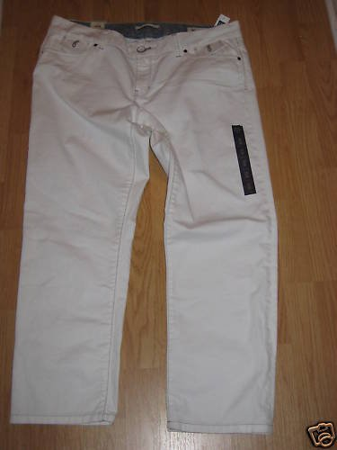 NWT GAP WOMENS WHITE JEANS 16 LIMITED EDITION  $59.50