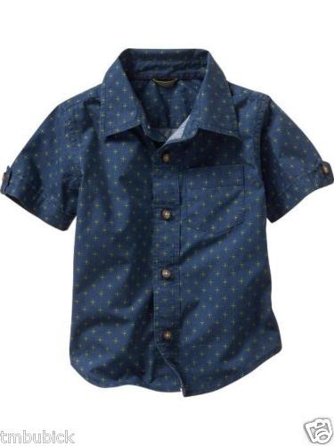 NWT BABY GAP FLORAL TILED PRINTED SHIRT 18 - 24 $24.50