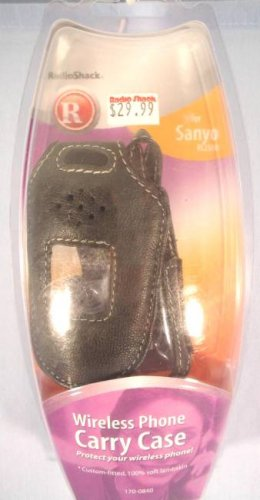 Wireless Phone Carry Case For A Sanyo rl2500 Brand New