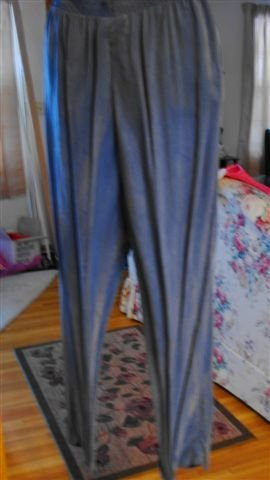 Blue And Gray Pants Feel like Silk