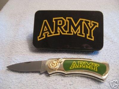 Collectable Army Lock Back Folding Knife