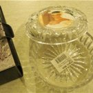 Studio Nova Heavy Glass Bowl with Picture Frame Lid NIB