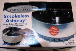 Smokeless Ashtray Great for poker