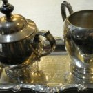 Oneida Silver Set with Tray