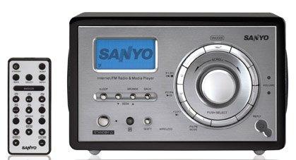 Sanyo R227 WiFi Internet Radio (Black) - Free Shipping !!!