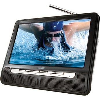 Coby TFTV891 8-Inch Portable Widescreen TFT LCD TV with ATSC/NTSC Tuner - 50% OFF