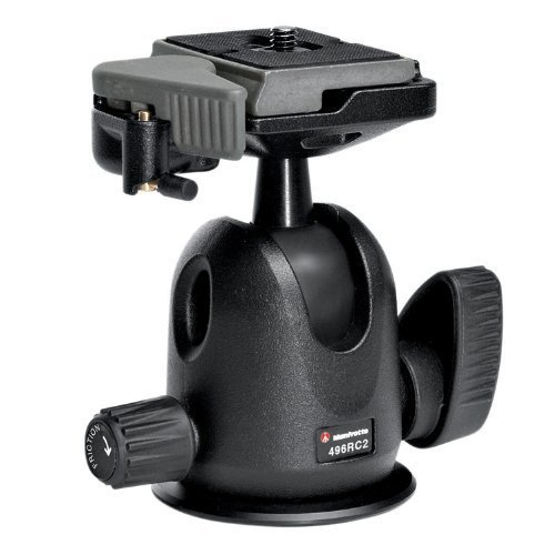 Manfrotto 496RC2 Ball Head with Quick Release Replaces Manfrotto 486RC2 - Free Shipping!!
