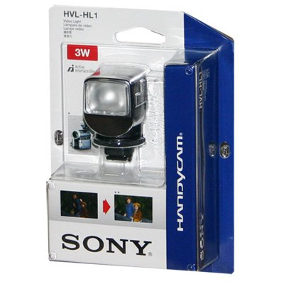 Sony HVL-HL1 Video Light (3-Watt) for Compatible Sony Camcorders - Free Shipping - 50% OFF