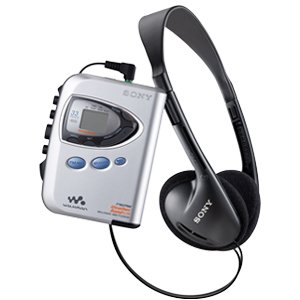 Sony Walkman Digital Tuning Weather FM/AM Stereo Cassette Player (Silver)