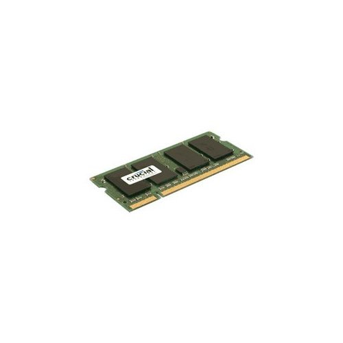 Crucial 2GB 256Mx64PC2-5300 CT25664AC667 DDR2 200-Pin SODIMM Laptop Memory