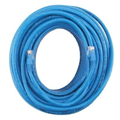 RiteAV - Cat6 Network Ethernet Cable - Blue - 100 ft.