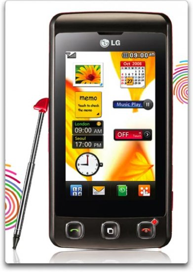 LG KP500 Cookie Unlocked Phone with 3.2 MP Camera, Digital Media Player and MicroSD Slot