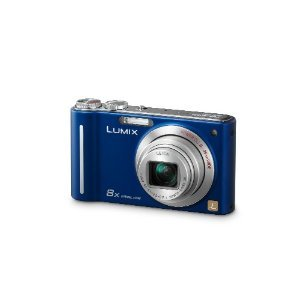 Panasonic Lumix DMC-ZR1 Digital Camera (Blue)