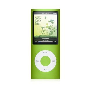 Apple Ipod nano 8GB 4th Generation - Green - Free Shipping !!!