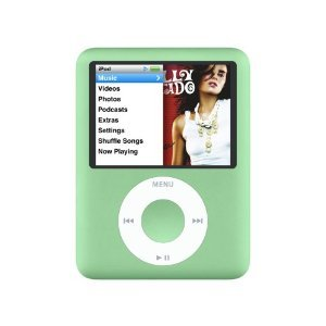 iPod Nano 8GB 3rd Generation (Green) - 55% OFF