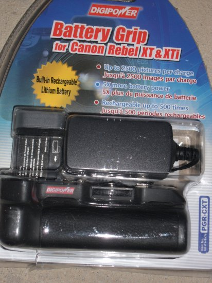 Digipower PGR-CXT Rechargeable Battery Pack & Grip - Free Shipping!!!